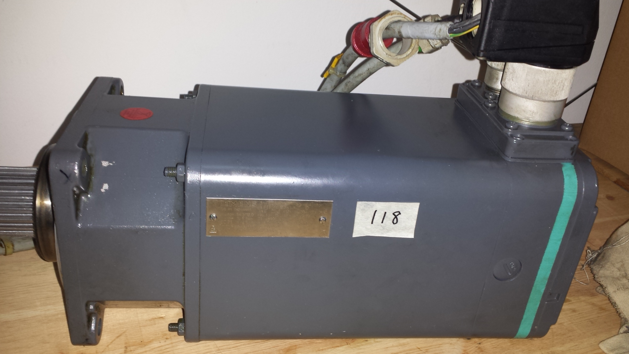 Siemens Permernant Magnet Motor Measurite